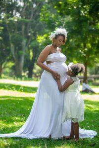 Stylist Elegant Maternity Photography Kenya